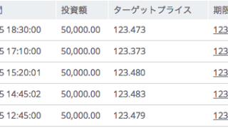 バイナリーオプション攻略法【5ミニッツ戦略】に新たな動き!?本日のトレード結果は87,000円利益です^^!