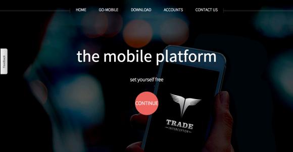 TradeInterceptorトップ画面